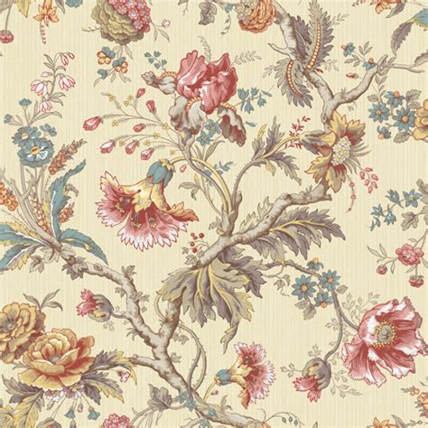classical jacobean wallpaper  wallquest lelands wallpaper