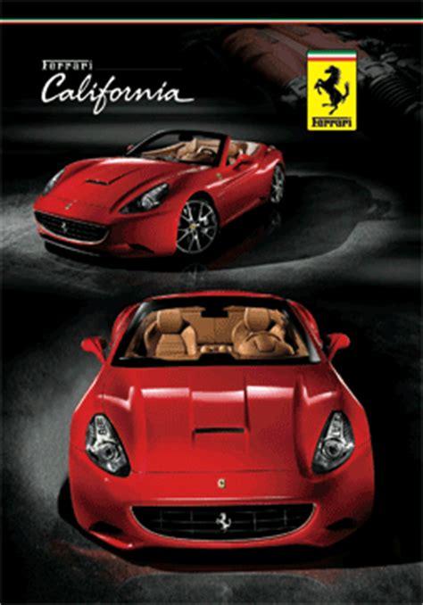 ferrari california  poster  print europosters