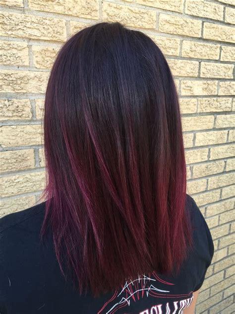 color melt hair  ideas  seamless color melting