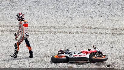 Marquez Marc Motogp Crash Honda Gp Moto