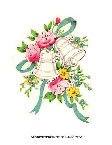 vintage clip art wedding wedding bells clip art