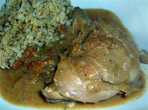 recette de poulet 224 la p 226 te d arachide