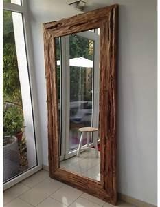 Spiegel 80 X 100 : spiegel massivholz teak wandspiegel altholz ma e 200 x 100 cm ~ Bigdaddyawards.com Haus und Dekorationen