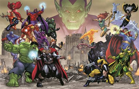Marvel Avengers Battle for Earth Characters