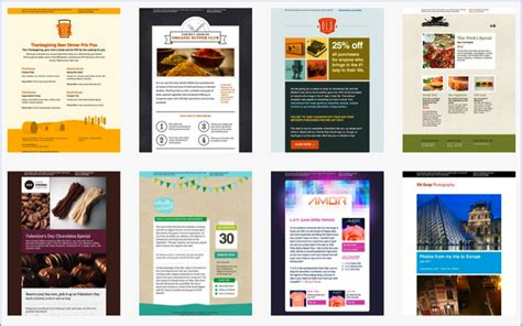 mailchimp templates getting started with email marketing achieving email speed scoop it
