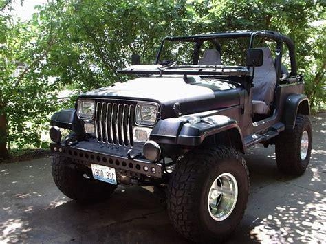 jeep sahara matte black matte black jeep wrangler yj jeep pinterest cars