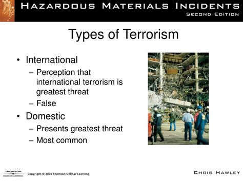 ppt hazardous materials incidents by chris hawley