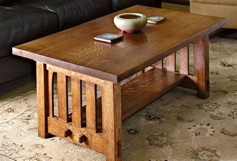 mission style coffee table plans woodwork city