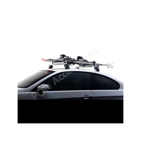porte ski sur barre de toit porte ski voiture antivol 6 paires