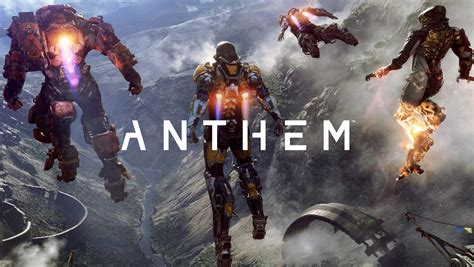Anthem – EA takes on Destiny with open-world futuristic ...