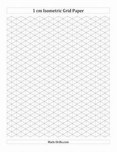 Printable Isometric Paper