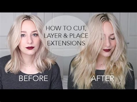 cut layer extensions placement  short medium