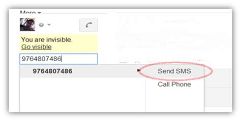 Mobile Gmail Chat by How To Send Free Sms From Your Gmail Chat
