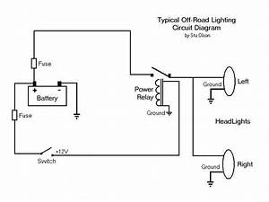 Off Road Lights - Wiring Questions