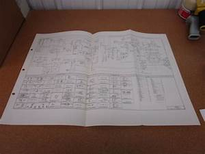 1974 74 Ford Courier Electrical Wiring Diagram Sheet