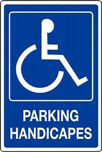 Panneau Stationnement Handicapé : panneau mural texte parking handicap s achat en ligne seton fr ~ Medecine-chirurgie-esthetiques.com Avis de Voitures