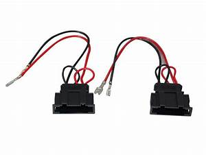 Radio Stereo Speaker Wire Harness Adapter Plug For Vw Seat Passat Golf Polo