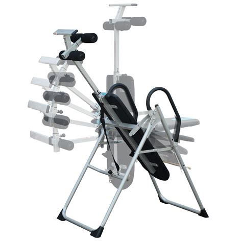 homcom foldable therapy gravity inversion table ab exercise bench home fitness  ebay