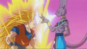 DRAGONBALL Z BATTLE OF GODS! GOKU SSJ3 VS LORD BEERUS ...