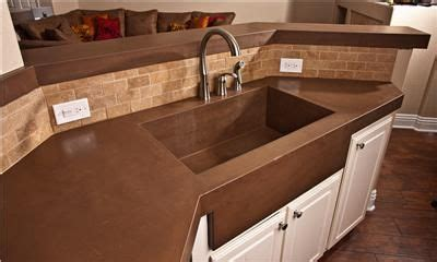 how to add backsplash to kitchen brown countertop concrete countertops concrete wave design 8490