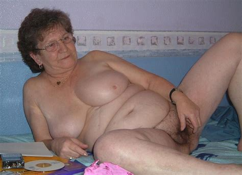 Ugly Fat Old Horny Granny