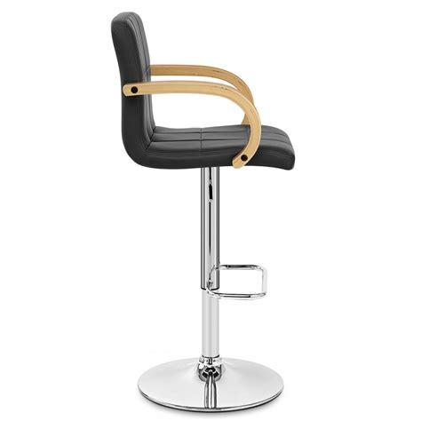 but chaise de bar chaise de bar faux cuir chrome burton monde du tabouret
