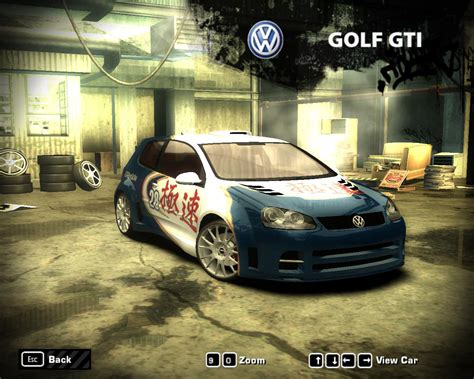 Nfs Most Wanted 2005 Volkswagen Golf Gti By 850i On