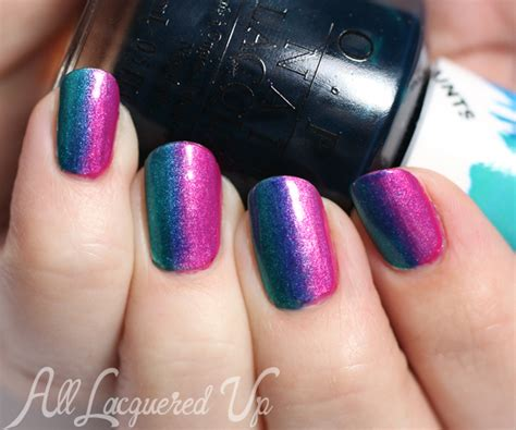 3 opi color paints nail ideas all lacquered up