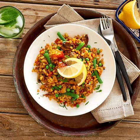 vegetable paella healthier happier