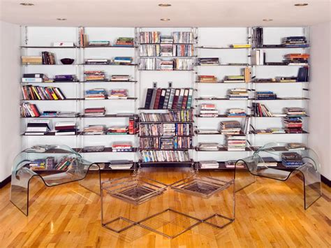 Wall To Wall Bookcase Ideas by Functional And Stylish Wall To Wall Shelves Hgtv
