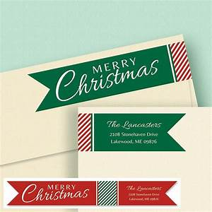 holiday connect wrap diecut address labels colorful images With address labels near me