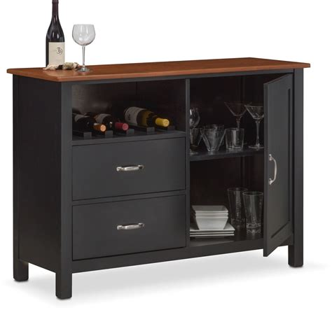 A Sideboard Is A by Nantucket Sideboard Black And Cherry American