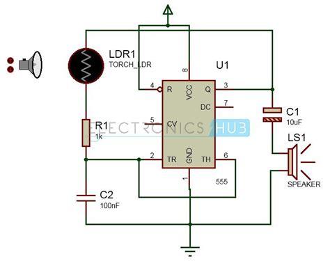 screaming siren lights circuit elektronik