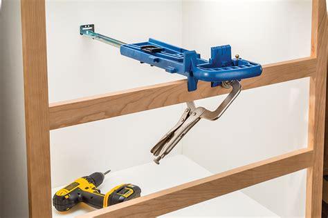 rockler jig simplifies drawer  installations