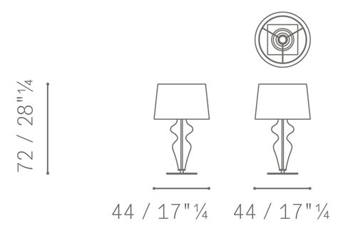 Poltrona Frau Tiffany : Holly Poltrona Frau Table Lamp