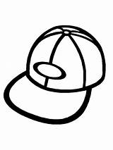 Hat Coloring Pages sketch template