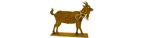 Ziege Gartendeko by Edelrost Schafe Und Ziegen Gartendeko Rost G 252 Nstig