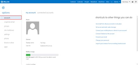 Office 365 Outlook Gmail Settings by Change Your Email Display Name In Office 365 Axiom It