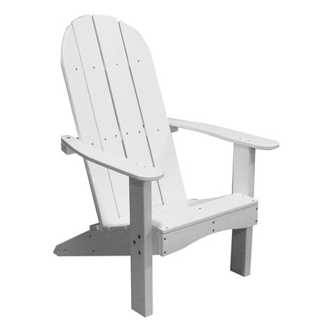 recycled plastic back adirondack chair
