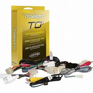 Maestro Plug And Play Installation Harness For Toyota And