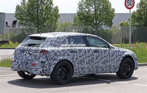 2019 Mercedesbenz Gla X157 Mule Wears 2018 Aclass Body