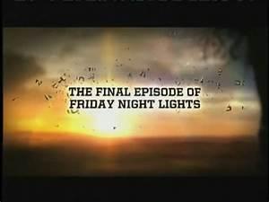 Friday Night Lights Finale Promo - TV Fanatic