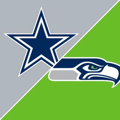 cowboys  seahawks game summary october   espn