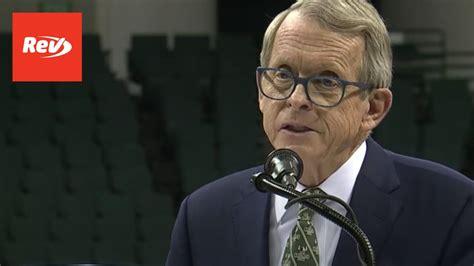 Ohio Gov. Mike DeWine COVID-19 Press Conference Transcript ...