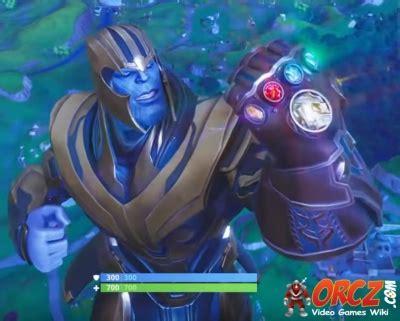 fortnite battle royale thanos orczcom  video games