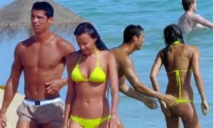 Cristiano Ronaldo Can39t Keep His Hands Off Irina Shayk39s