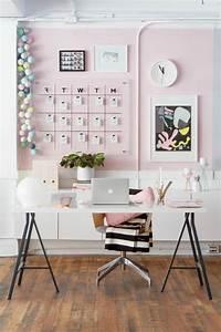 Bureau Sur Tréteaux : comment d corer un bureau laqu blanc 61 photos inspirantes ~ Teatrodelosmanantiales.com Idées de Décoration