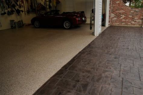 Concrete Floor Garage by Garage Floors Gallery Concrete Resurfacing