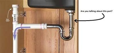 kitchen sink drain pipe kit under kitchen sink drain plumbing