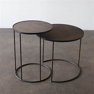 Furniture timeless piece of furniture for your home with for Round stacking coffee table